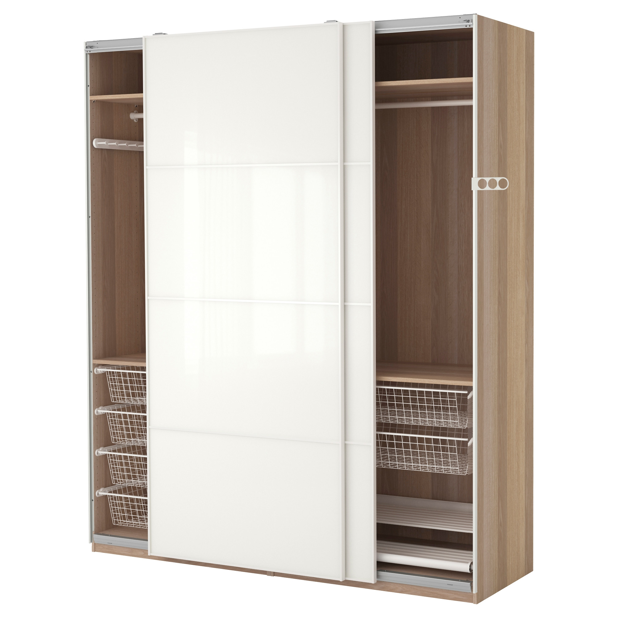 Pax System Combinations With Doors Ikea With Regard To Corner Wardrobe Closet IKEA (View 24 of 25)