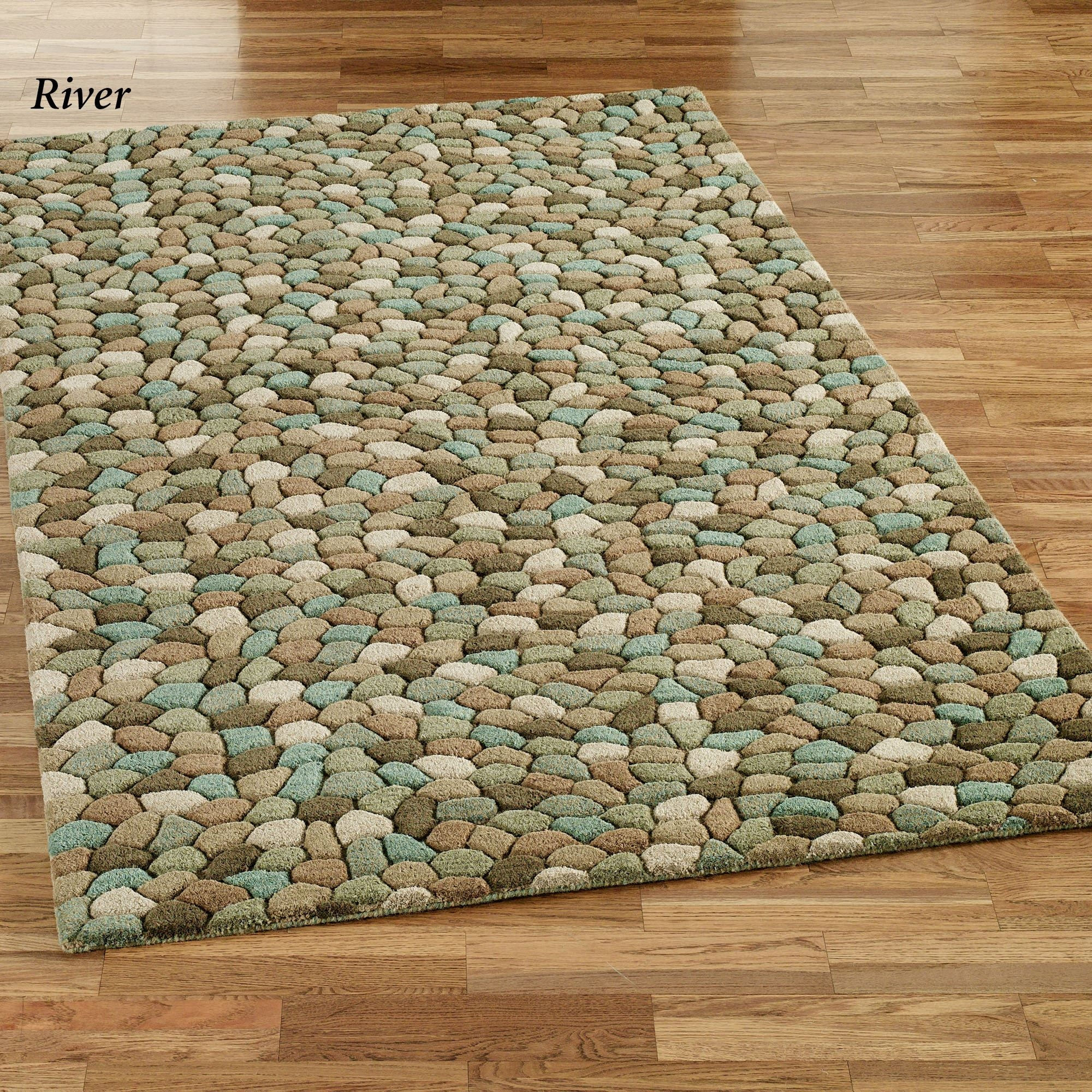Pebble Area Rugs In Pebble Rugs (Image 3 of 15)