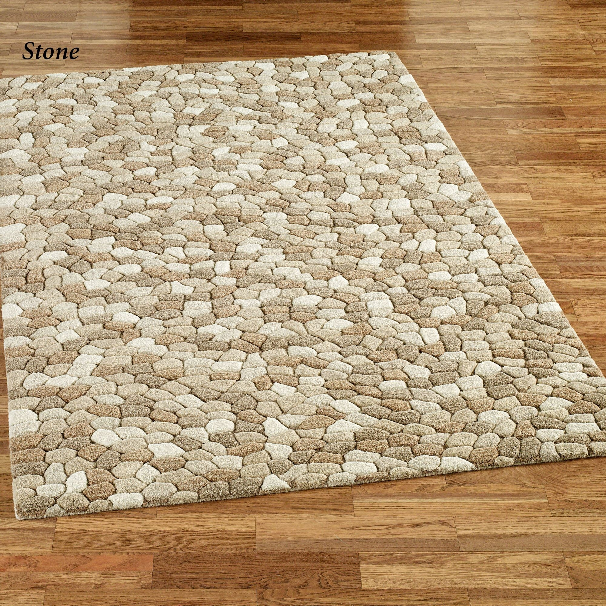 Pebble Area Rugs Inside Pebble Rugs (Image 4 of 15)