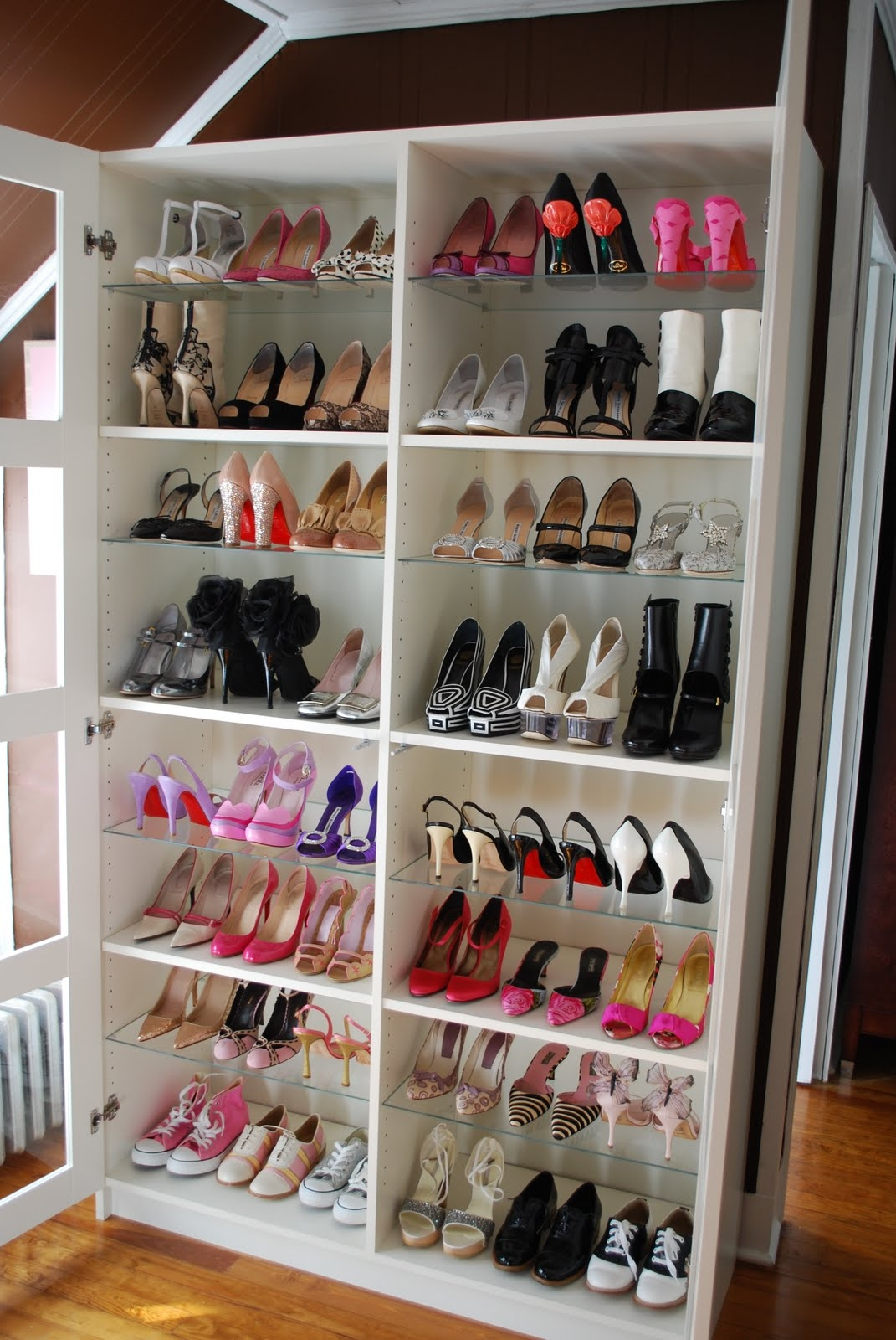Perfect Shoe Storage For Small Closet Roselawnlutheran Within Wardrobe Shoe Storages (Image 14 of 25)