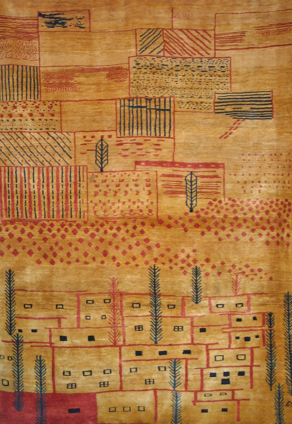 Persian Gabbeh Rug Intended For Gabbeh Rugs (Image 7 of 15)