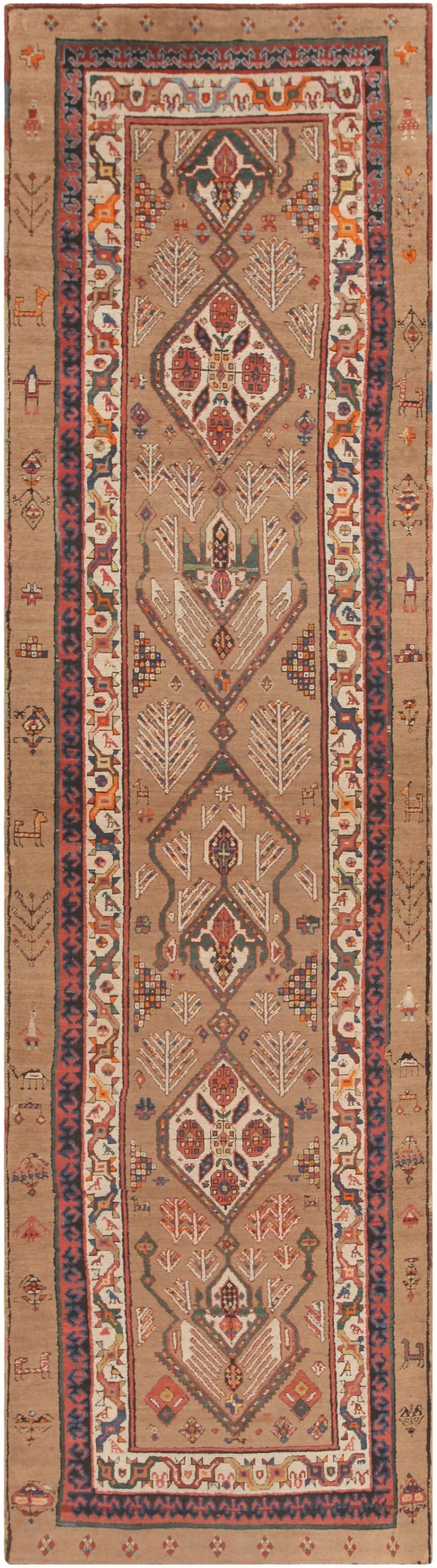 Persian Rug Runner Rugs Ideas For Persian Carpet Runners (View 14 of 15)