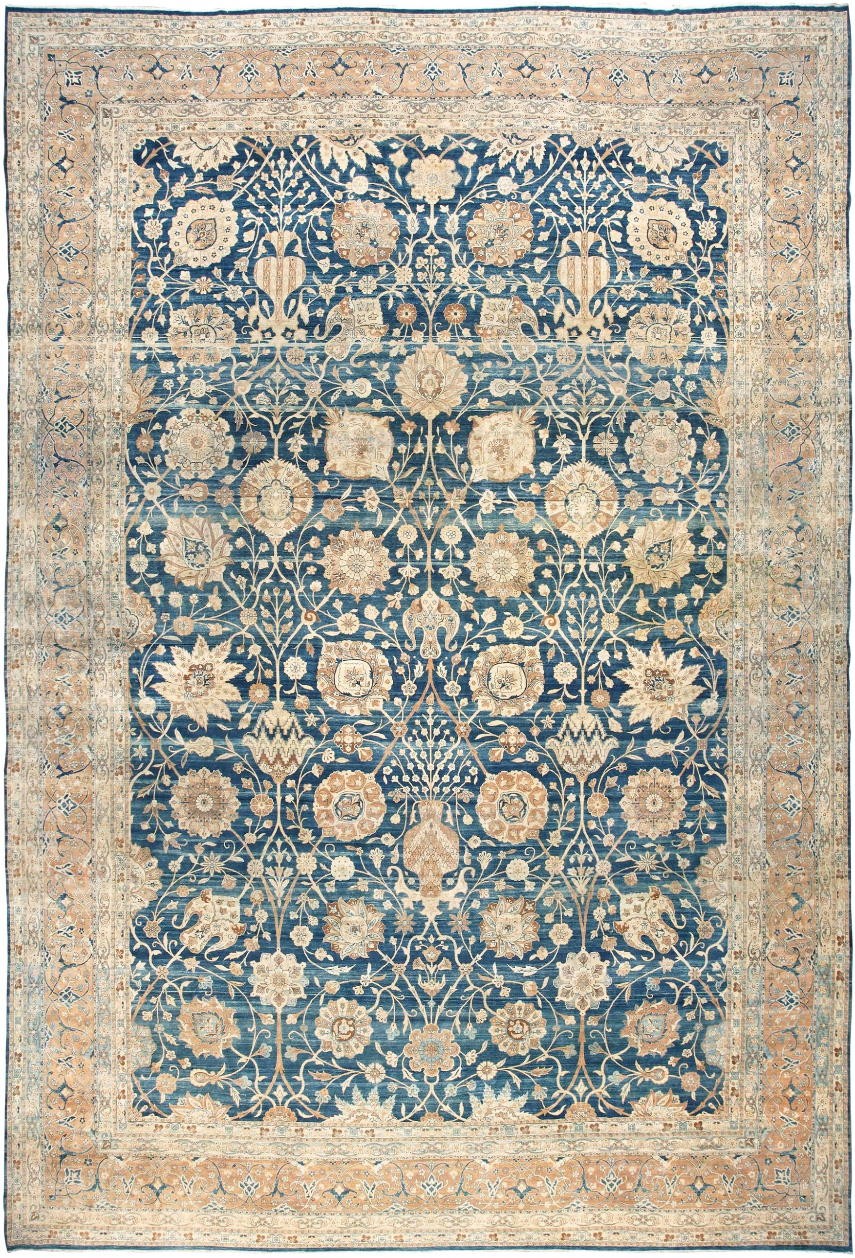 Persian Rugs Blue Roselawnlutheran In Blue Persian Rugs (View 7 of 15)