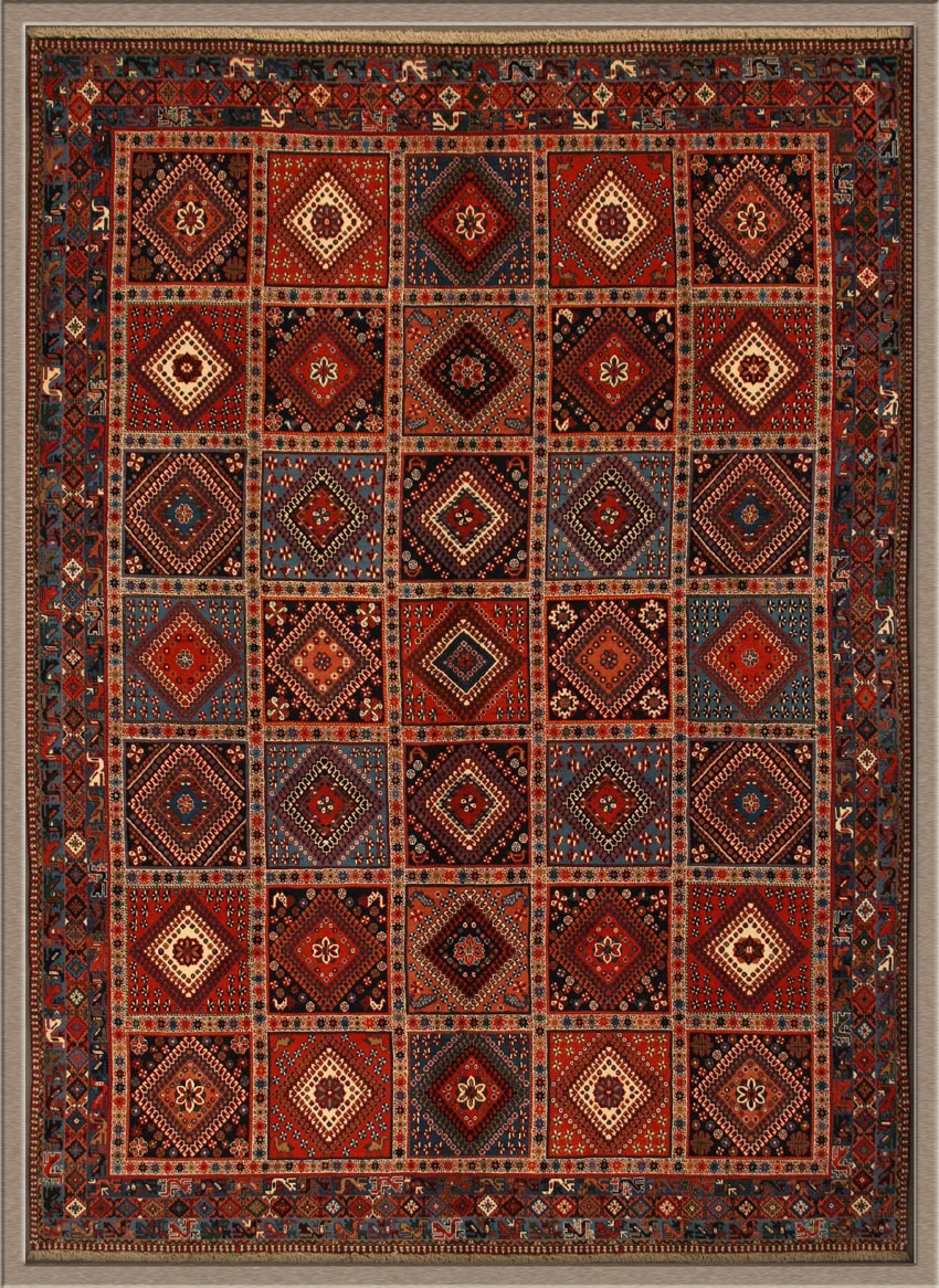 Persian Rugs Oriental Area Rugs Inside Afghan Rug Types (Image 12 of 15)