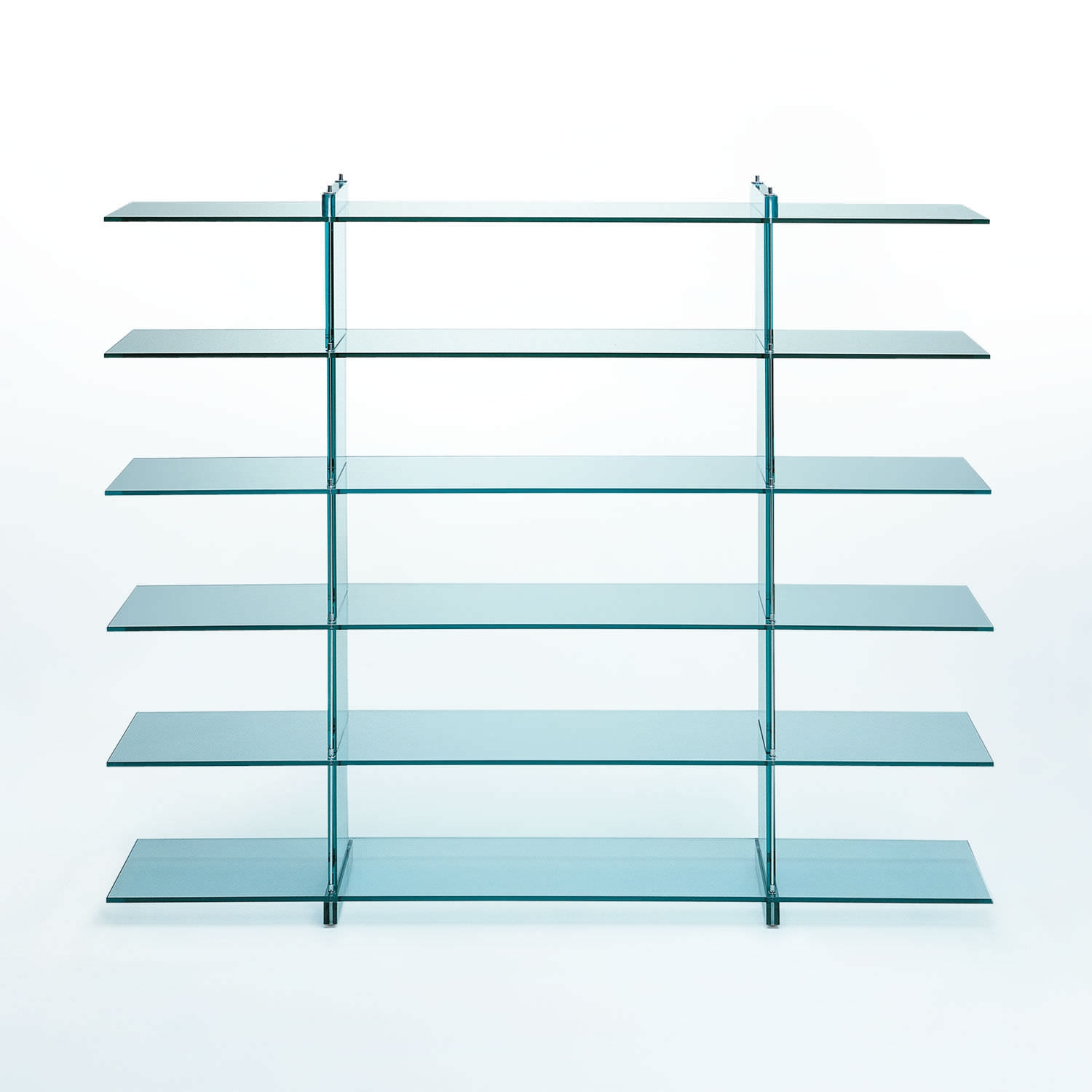 Photo Gallery Glass Shelving Inside Glass Shelf Glass Shelf In Glass Shelving (View 4 of 15)