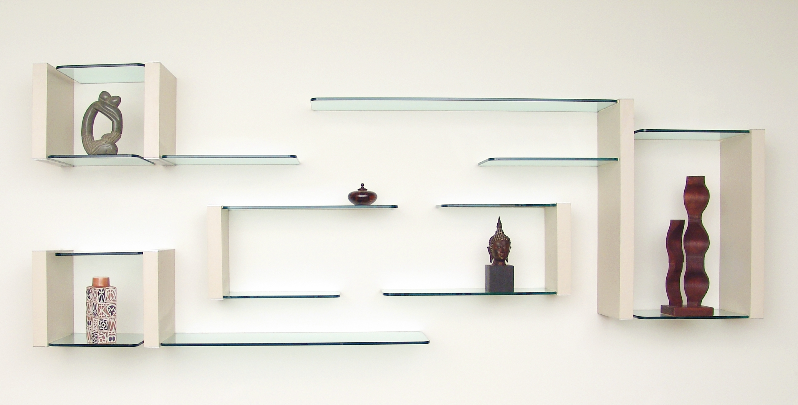 Photo Gallery Glass Shelving Throughout Floating Glass Shelves (View 9 of 15)