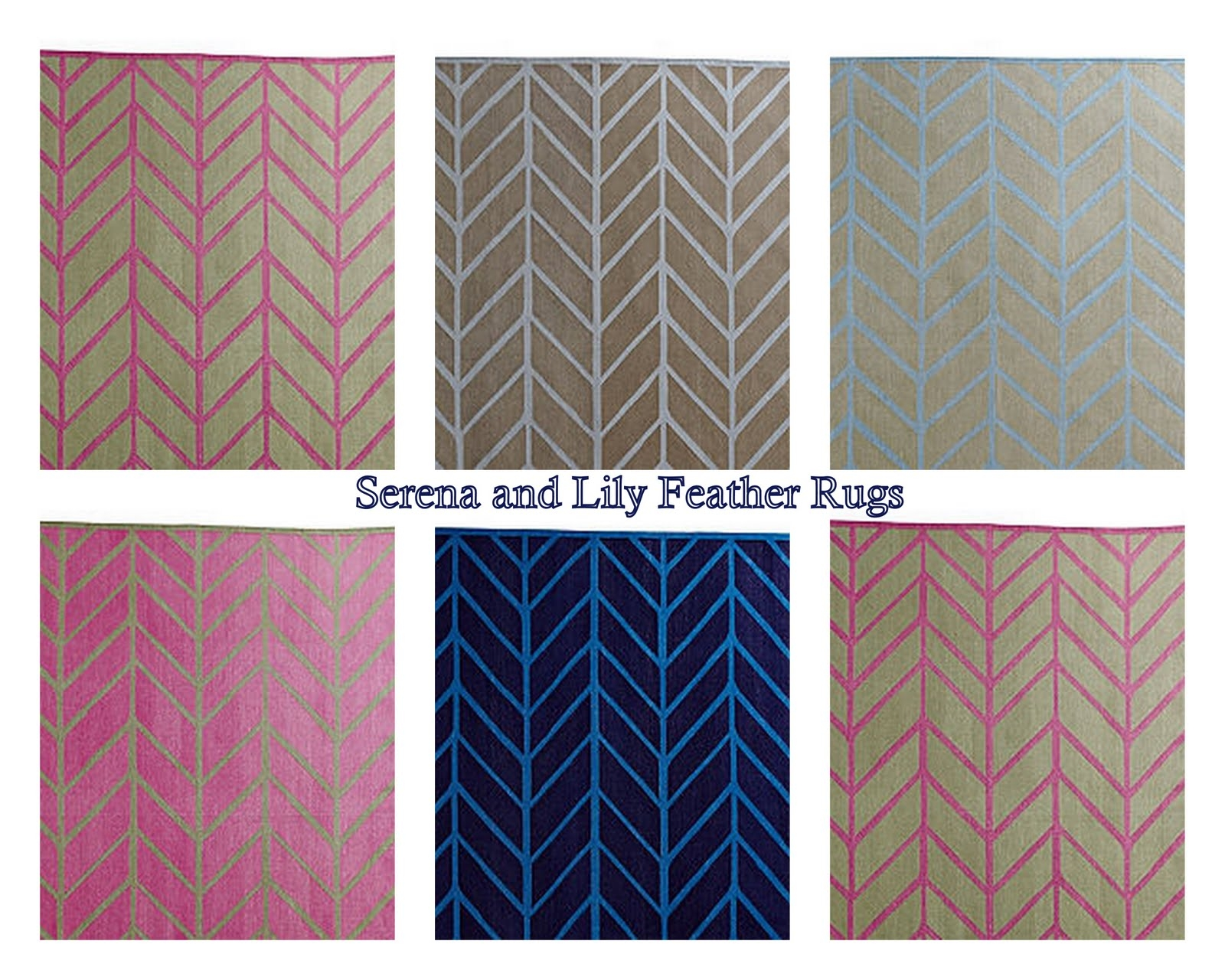 Picket Fence Design Feather Rugs Intended For Lily Rugs (Image 7 of 15)