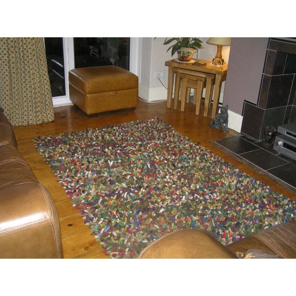 Plantation Jelly Bean Multicoloured Wool Rug Home Of The Sofa With MultiColoured Wool Rugs (Image 10 of 15)