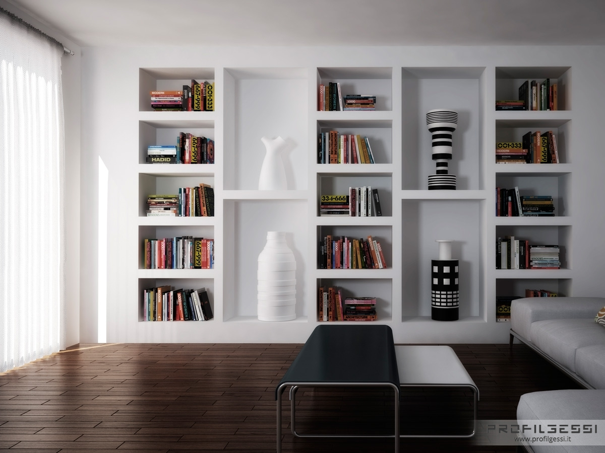 Featured Image of Shelves On Plasterboard