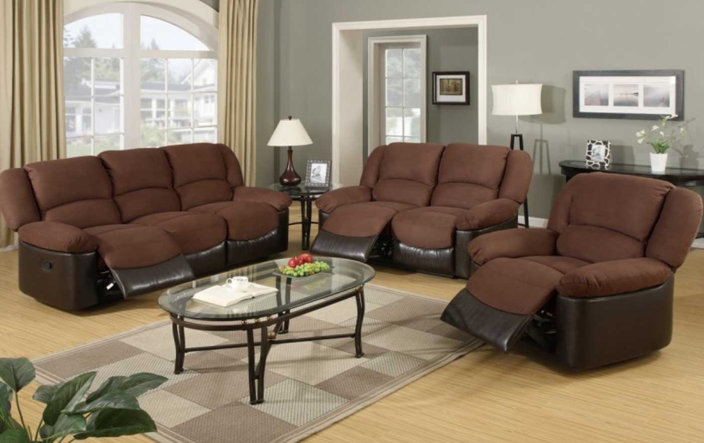 Popular Brown Chairs For Living Room Family Room Dark Brown Sofa With Brown Sofa Chairs (Image 14 of 15)