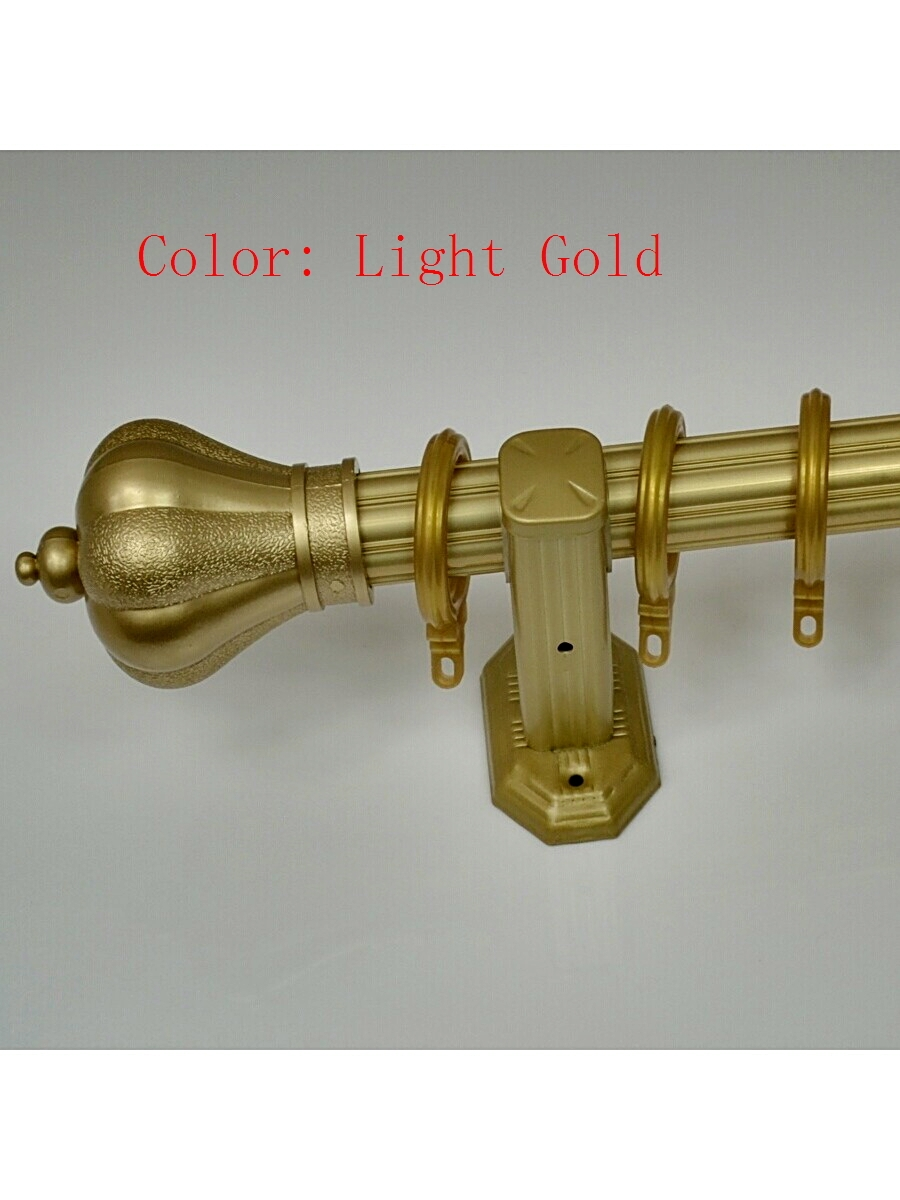 Popular Finials For Curtain Rods Buy Cheap Finials For Curtain Throughout Metal Curtain Rod Finials (View 14 of 25)
