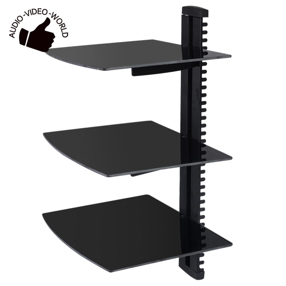 Popular Floating Shelves Black Buy Cheap Floating Shelves Black For Black Glass Floating Shelves (View 14 of 15)