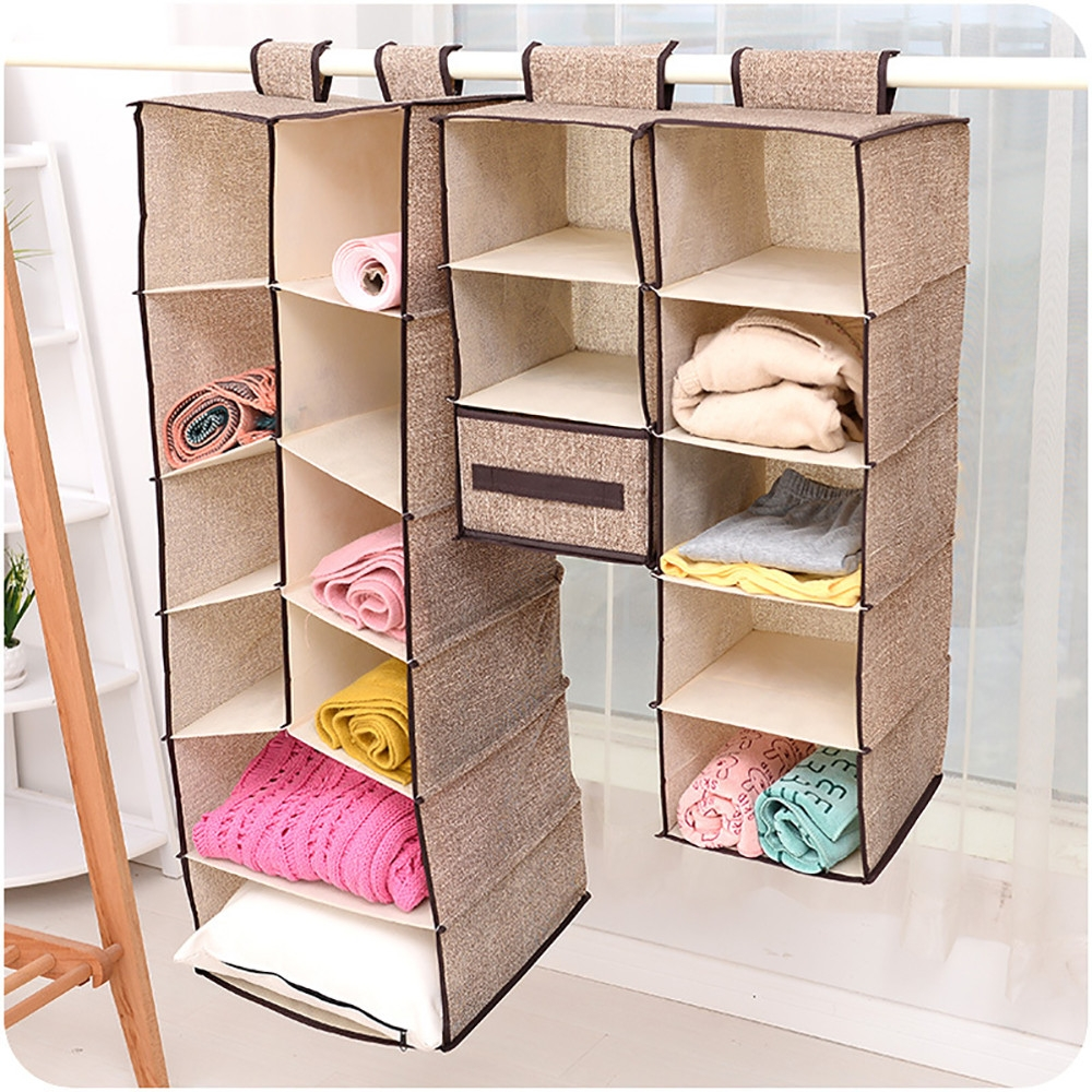 Popular Hanging Wardrobe Organiser Buy Cheap Hanging Wardrobe With Regard To Hanging Wardrobe Shelves (Image 17 of 25)