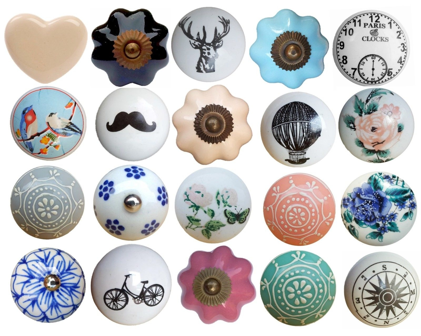 Popular Rose Drawer Knobs Buy Cheap Rose Drawer Knobs Lots From Regarding Vintage Cupboard Handles (View 9 of 25)