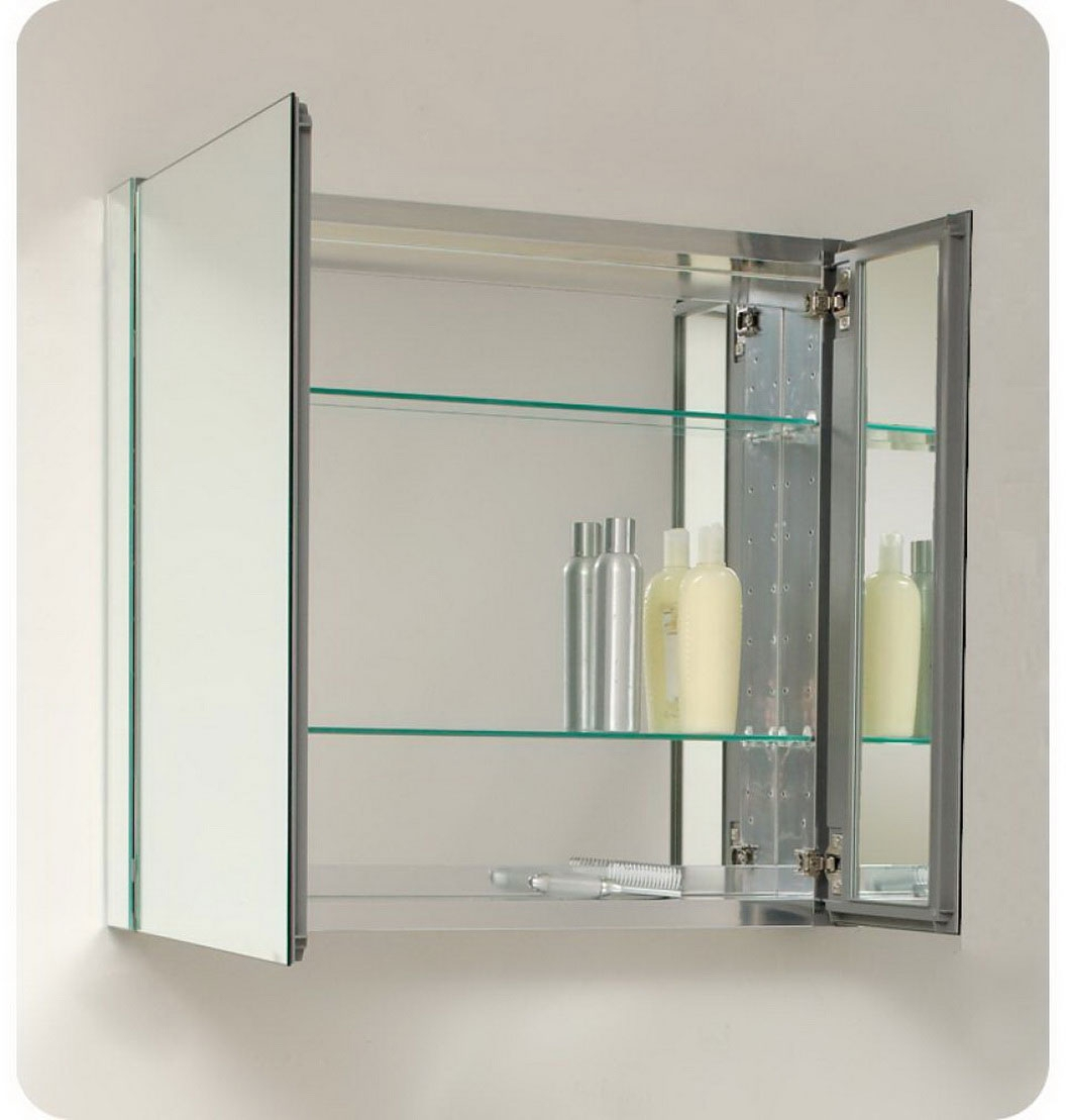 Popular Styles Of Bathroom Mirror Cabinets Free Designs Interior Pertaining To Bathroom Mirror Cupboards (View 3 of 25)