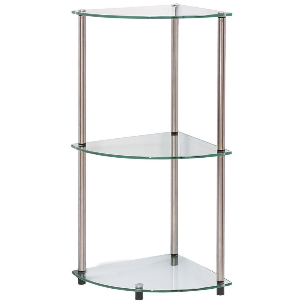 Popular Wall Glass Shelves Buy Cheap Lots From In Excellent Shelf With Regard To Suspended Glass Shelves (Image 9 of 15)