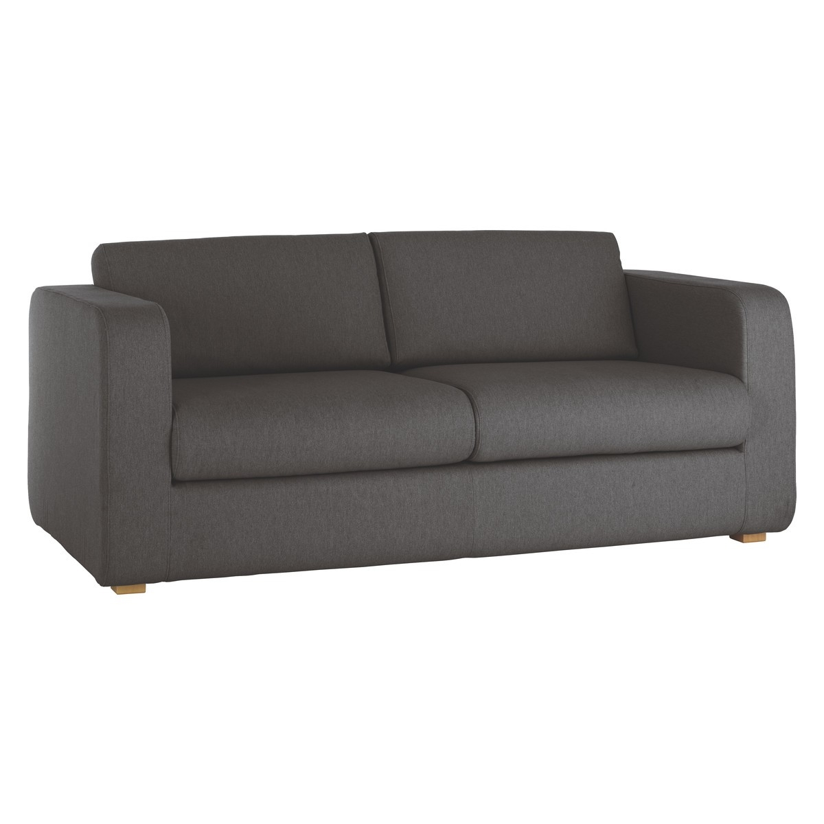 Porto Charcoal Fabric 3 Seater Sofa Buy Now At Habitat Uk With Three Seater Sofas (Image 14 of 15)