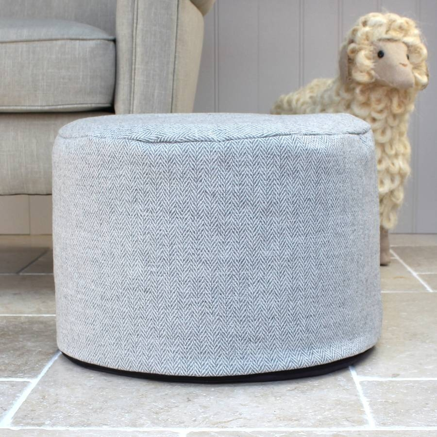 Pouffes And Footstools Notonthehighstreet For Small Footstools And Pouffes (Image 11 of 15)