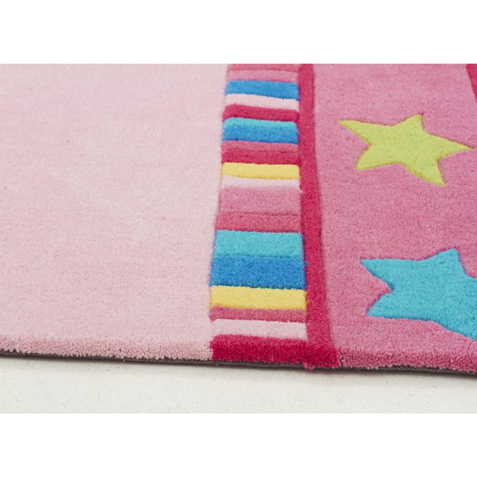 Pretty Girls Crown Rug Pink Kids Floor Rugs Free Shipping Intended For Girls Floor Rugs (Image 9 of 15)