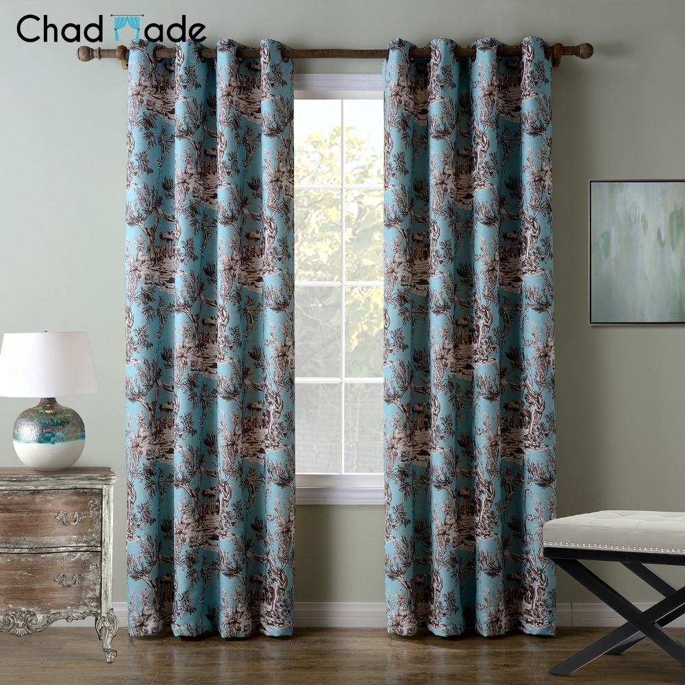 Print Pattern Curtain Promotion Shop For Promotional Print Pattern With Patterned Blackout Curtains (View 6 of 25)