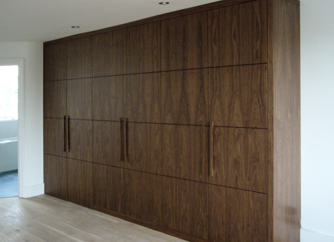 Proline In Solid Dark Wood Wardrobes (Image 7 of 15)