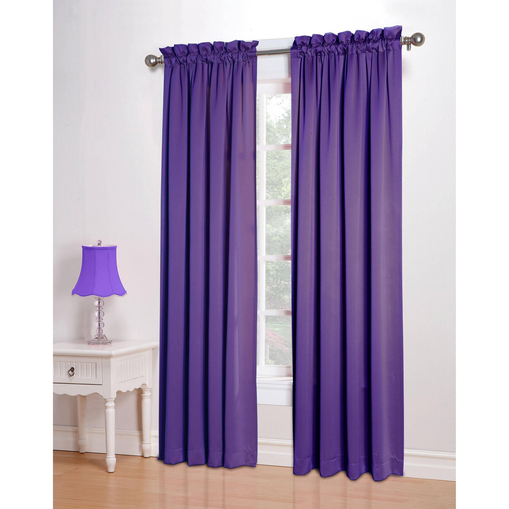 Purple Curtains For Girls Bedroom Pierpointsprings Pertaining To Purple Curtains For Kids Room (Image 20 of 25)