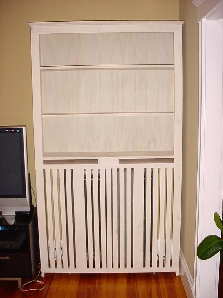 Radiator Cabinet Bookcase Uk Codeminimalist With Radiator Bookcase Cabinets (Image 10 of 15)