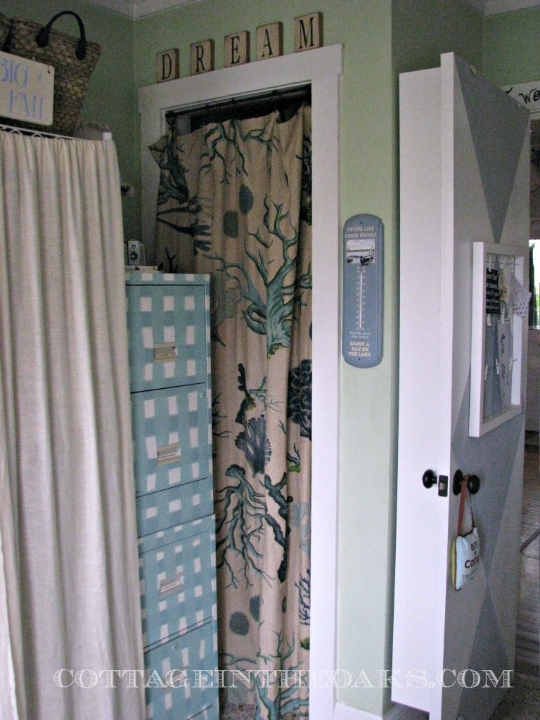Ready Made Curtains Using Curtains As Doors Cottage In The Oaks With Regard To Fabric Door Curtains (Image 24 of 25)