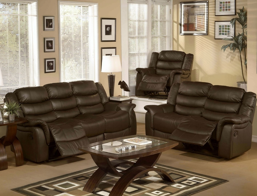 Reclining Sofa Chair Set Sofa Menzilperde Intended For Sofa Loveseat And Chair Set (Image 10 of 15)