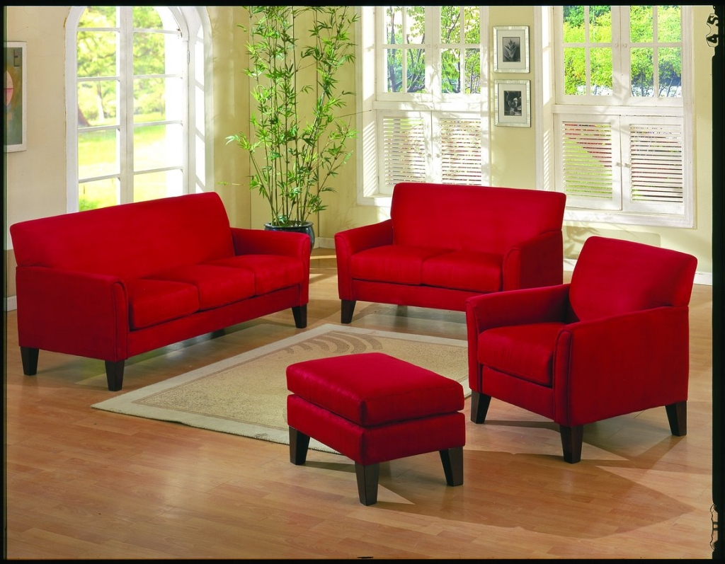 Red Accent Chairs For Living Room Intended For Residence Pertaining To Red Sofas And Chairs (Image 8 of 15)