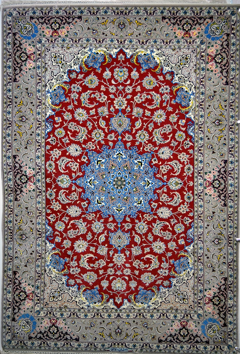 Red And Blue Persian Rug Roselawnlutheran Throughout Blue Persian Rugs (Image 13 of 15)