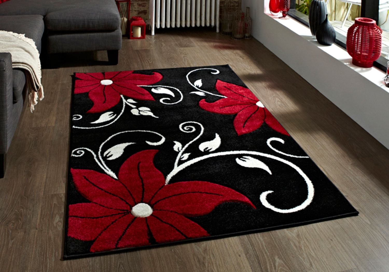 Red And Green Rugs Roselawnlutheran Throughout Small Red Rugs (View 5 of 15)