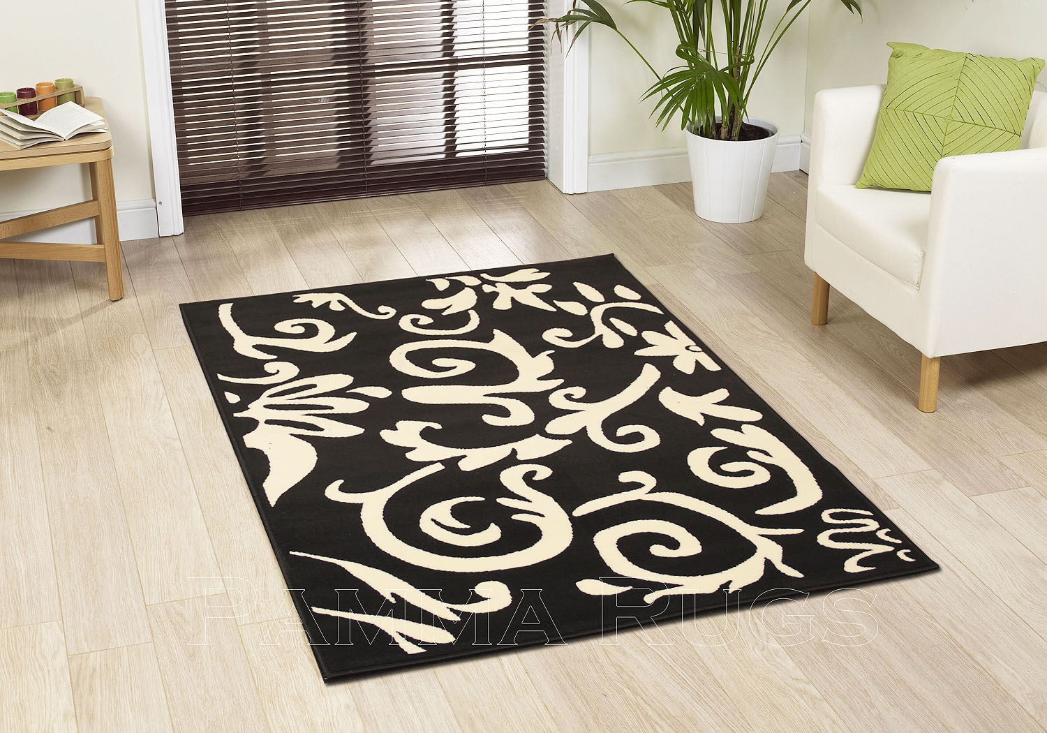 Featured Image of Cream And Black Rugs