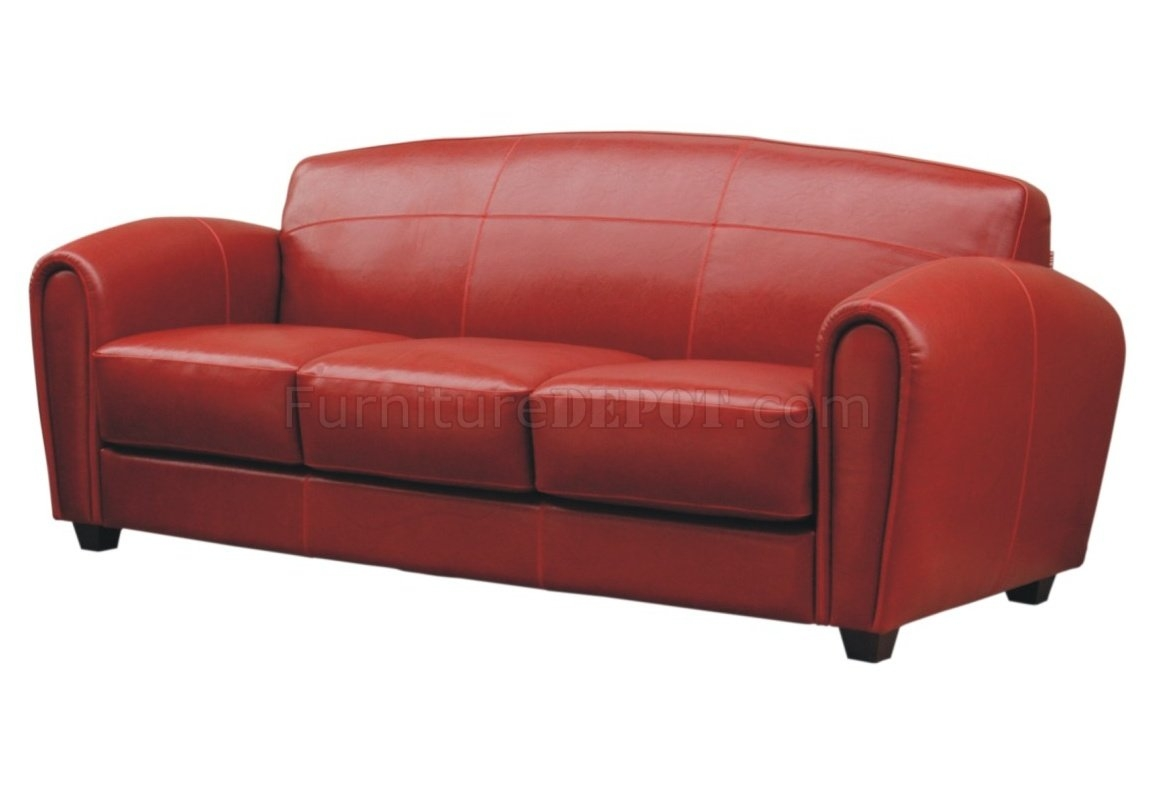 Red Sofa Bauhaus Layout Protector Bed Tugrahan Pertaining To Red Sofa Chairs (Image 8 of 15)