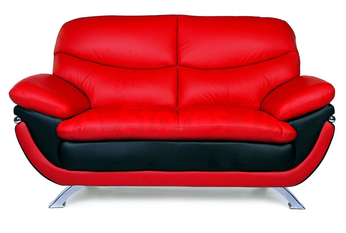 Red Sofa Furniture Raya Furniture Pertaining To Red Sofa Chairs (Image 9 of 15)