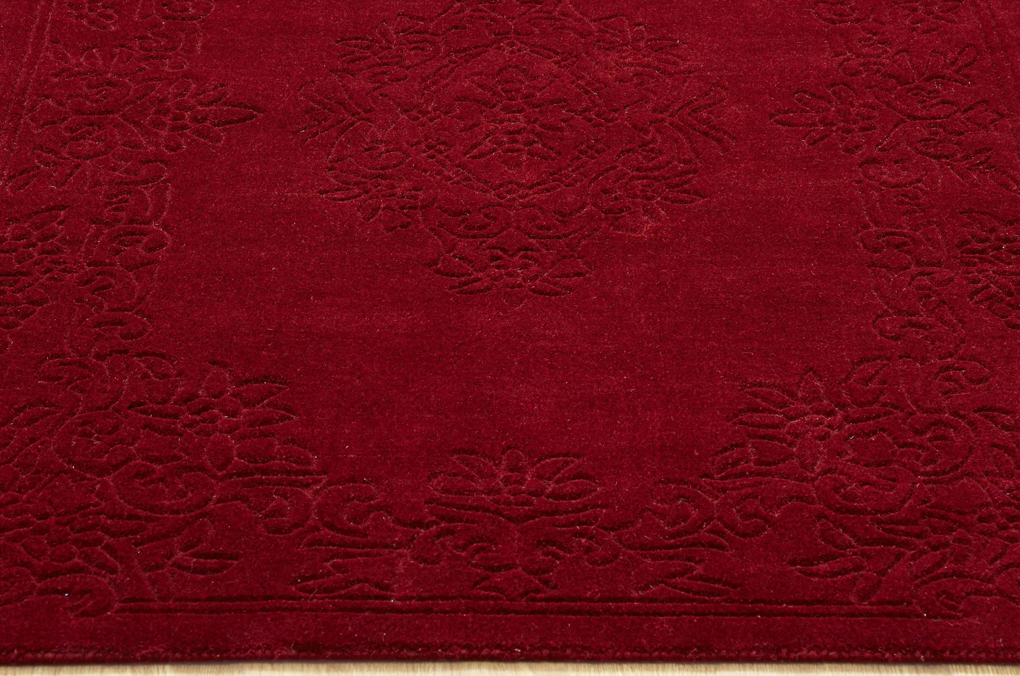 Red Wool Rugs Roselawnlutheran Pertaining To Red Wool Rugs (Image 10 of 15)