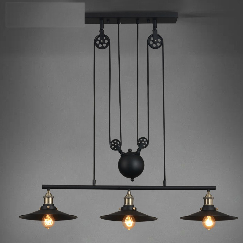 Remarkable Best Retractable Pendant Lights Pertaining To High Quality Industrial Pulley Promotion Shop For High Quality (Image 19 of 25)