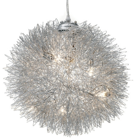 Remarkable Best Wire Ball Light Pendants Regarding Filament Pendant Lamp Contemporary Pendant Lighting Inmod (Image 19 of 25)