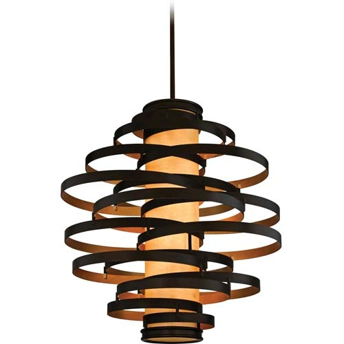 Remarkable Brand New Corbett Vertigo Small Pendant Lights For Corbett Lighting 113 44 Vertigo Collection Pendant Transitional (Image 18 of 25)