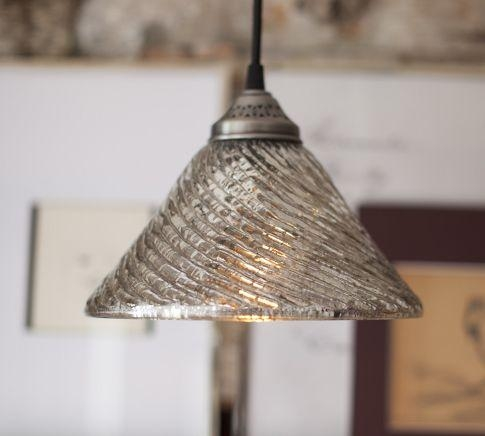 Remarkable Brand New Mercury Glass Pendant Lights At Anthropologie Within Fluted Antique Mercury Glass Pendant Pottery Barn (Image 18 of 25)
