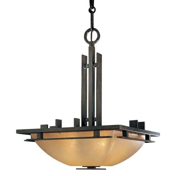 Remarkable Brand New Minka Lavery Pendant Lights With Minka Lavery 1275 357 Lineage 2 Light Pendant In Iron Oxide With (Image 21 of 25)