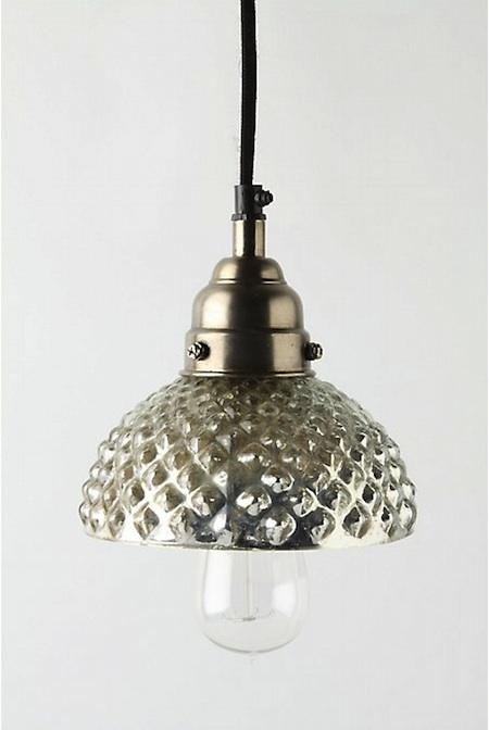 Featured Image of Mercury Glass Pendant Lights At Anthropologie