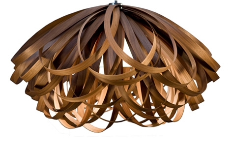 Remarkable Deluxe Wood Veneer Light Fixtures Throughout Wood Veneer Gallery Dwellinggawker (View 9 of 25)