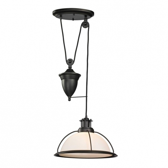 Remarkable Famous Pull Down Pendant Lights Regarding Industrial Pull Down Pendant Light Lighting And Chandeliers (View 24 of 25)