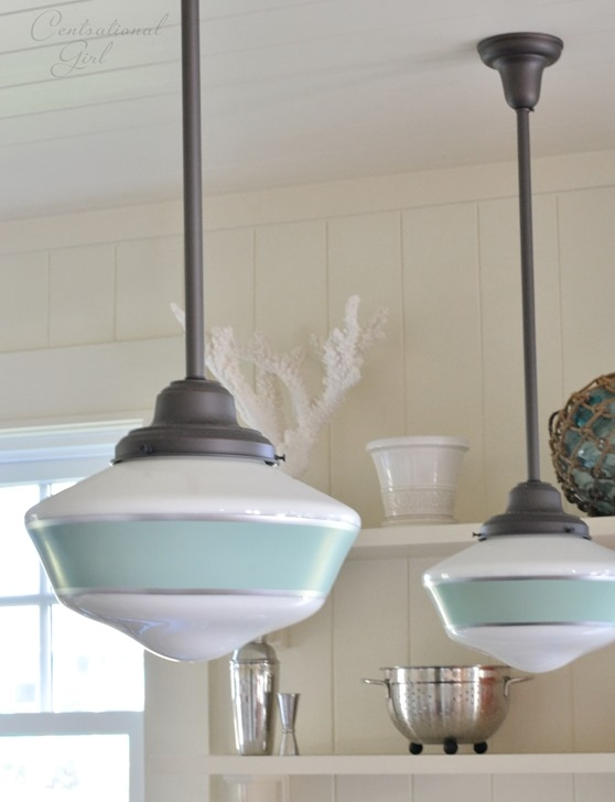 Remarkable Fashionable Beachy Pendant Lights Throughout Barn Light Electric Pendants Like The Beach Glass Color Added To (View 3 of 25)