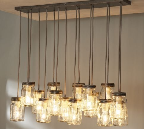 Remarkable Fashionable Multiple Pendant Light Fixtures In 70 Best Mason Jar Hanging Lights Images On Pinterest (View 10 of 25)