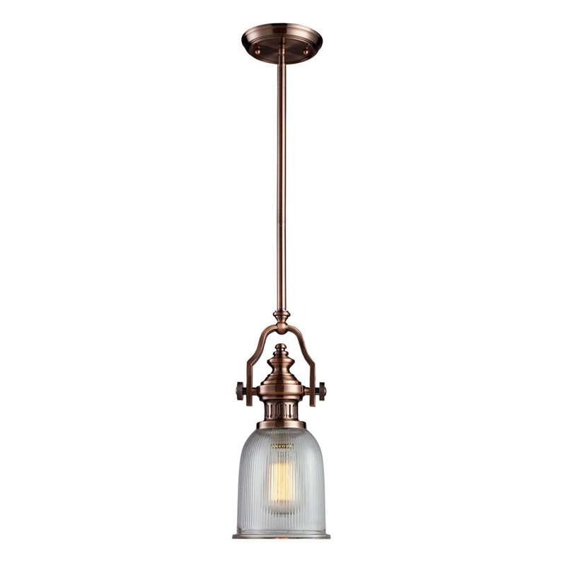 Remarkable Favorite Copper Mini Pendant Lights With Elk 66751 1 Chadwick Mini Pendant Light In Antique Copper (Image 20 of 25)