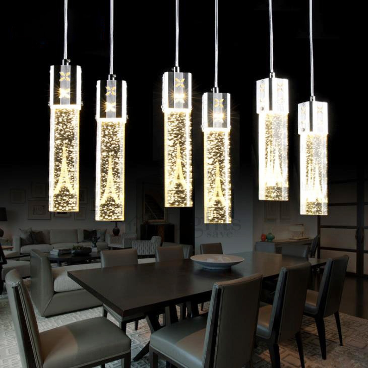Remarkable Favorite Led Pendant Lights Inside Wholesale Tower Pattern Crystal Led Pendant Lighting (Image 20 of 25)