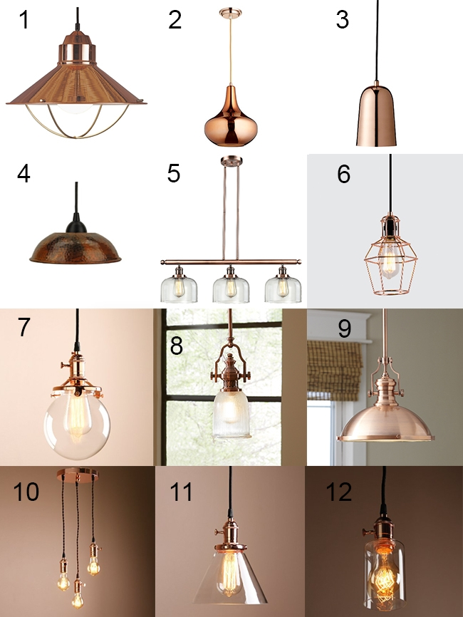 Remarkable Favorite Railroad Pendant Lights Intended For Trendy Copper Light Fixtures Design Dazzle (Image 19 of 25)