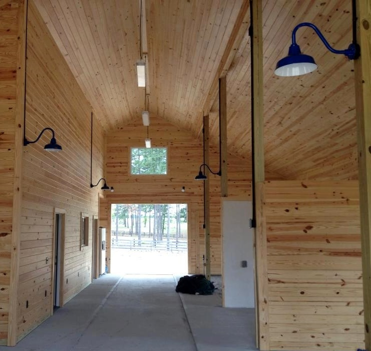 Remarkable High Quality Barn Lights With Regard To Classic Barn Lights In A Space With A Heart For Thoroughbreds (Image 19 of 25)